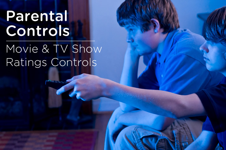 Set Up Movie & TV Show Ratings Controls