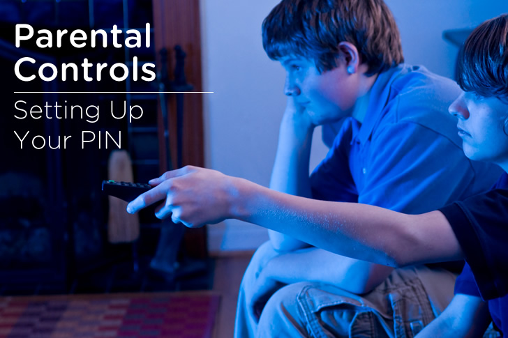 Setting Up A Parental Controls Pin