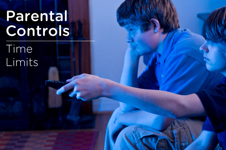 Set Up Parental Control Time Limits
