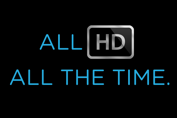 Coming Soon – All HD Channel Lineup