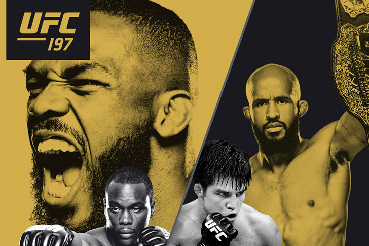 This Saturday – UFC 197: Jones vs. Saint Preux Live on C Spire Pay Per View