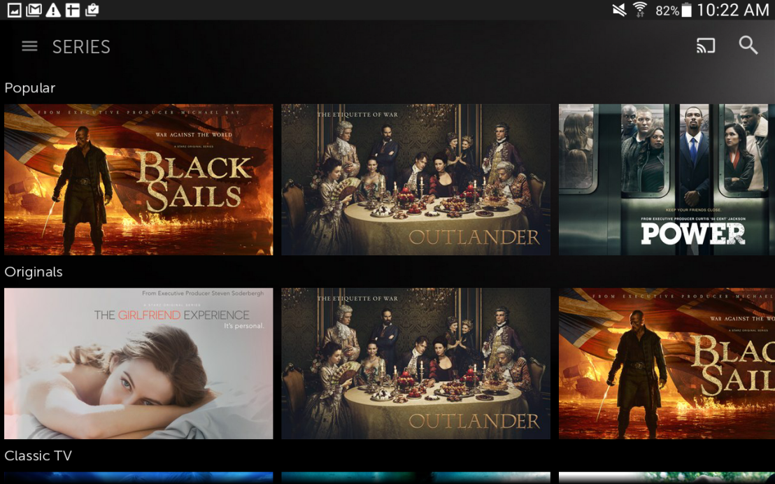 The STARZ App Is Your Newest TV Everywhere Best Friend