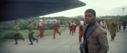 Star Wars: The Force Awakens Finn (John Boyega) Ph: Film Frame © 2014 Lucasfilm Ltd. & TM. All Right Reserved..