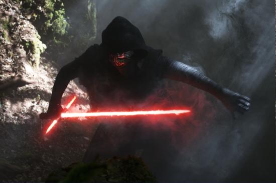 Star Wars: The Force Awakens..Kylo Ren (Adam Driver)..Ph: David James..©Lucasfilm 2015