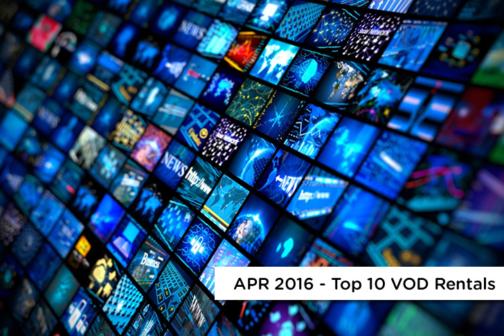 C Spire Top 10 VOD Rentals – April 2016