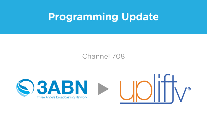 Programming Update on Channel 708
