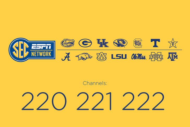 C Spire Fiber TV is an SEC Lover's Dream