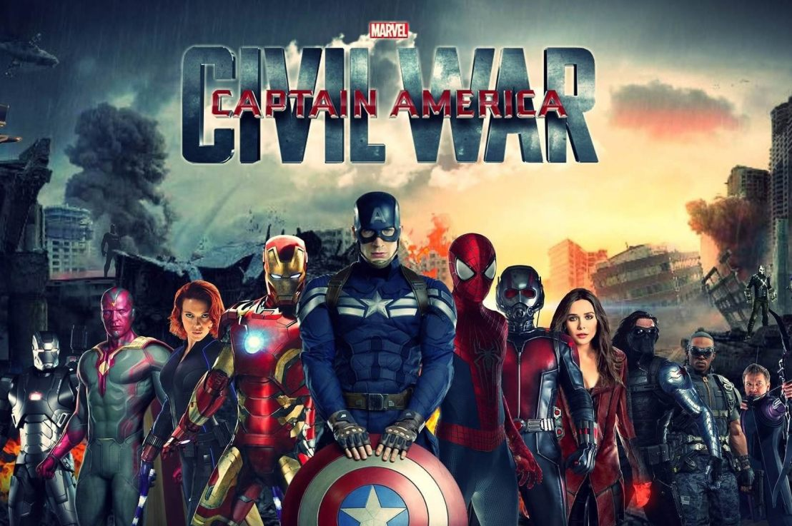 Captain America: Civil War Available On Demand