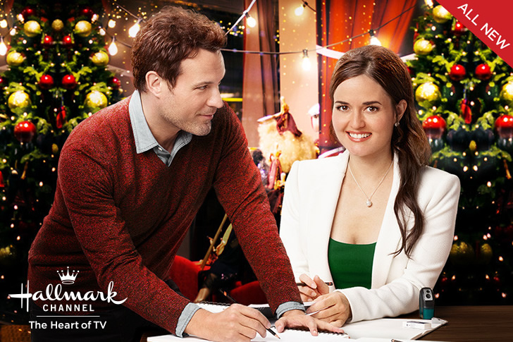 Danica McKellar (Winnie Cooper) stars in 'My Christmas Dream' On Hallmark Channel