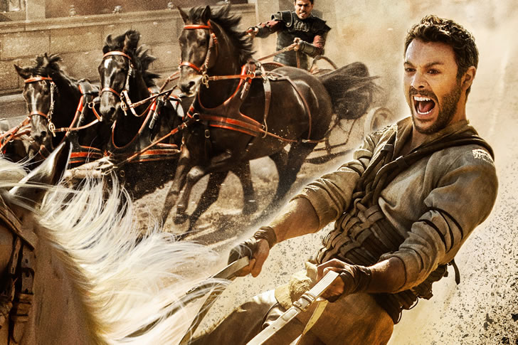 Ben-Hur Races into your Living Room in this Swords-and-Sandals Remake