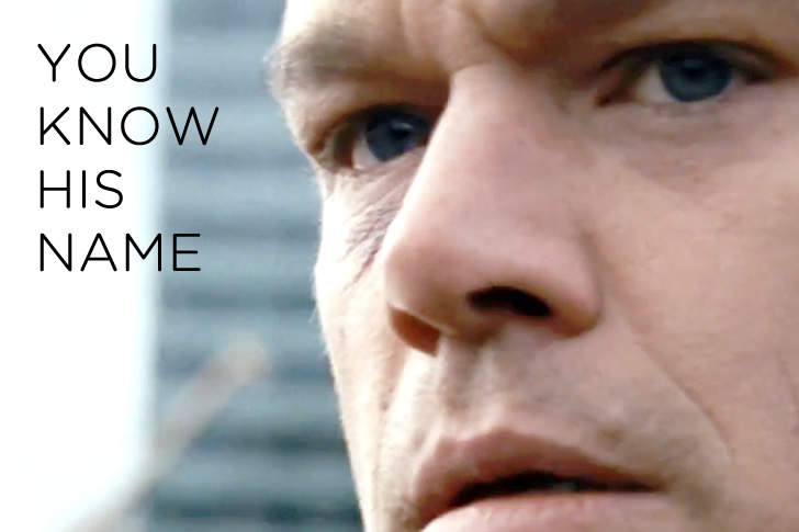 Buckle Your Safety Belt, Jason Bourne is Back and You're RidingShotgun