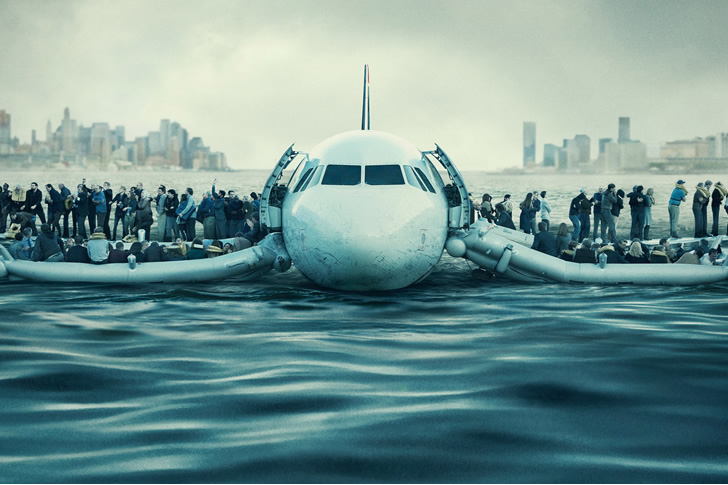 Tom Hanks Pilots Crippled Airbus A320 into the Frigid Hudson River. But That's Not Enough?!?