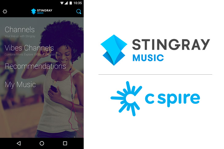 The Music Never Stops With Stingray Music & C Spire Fiber TV!