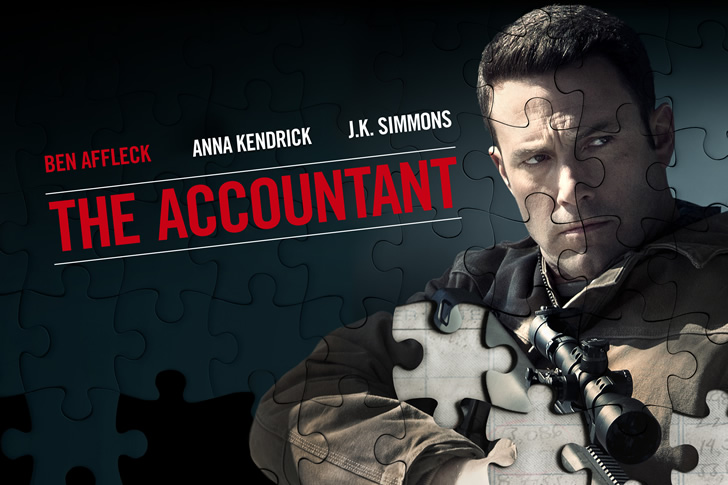 Ben Affleck Makes Sure You Itemize All Your Deductions in The Accountant