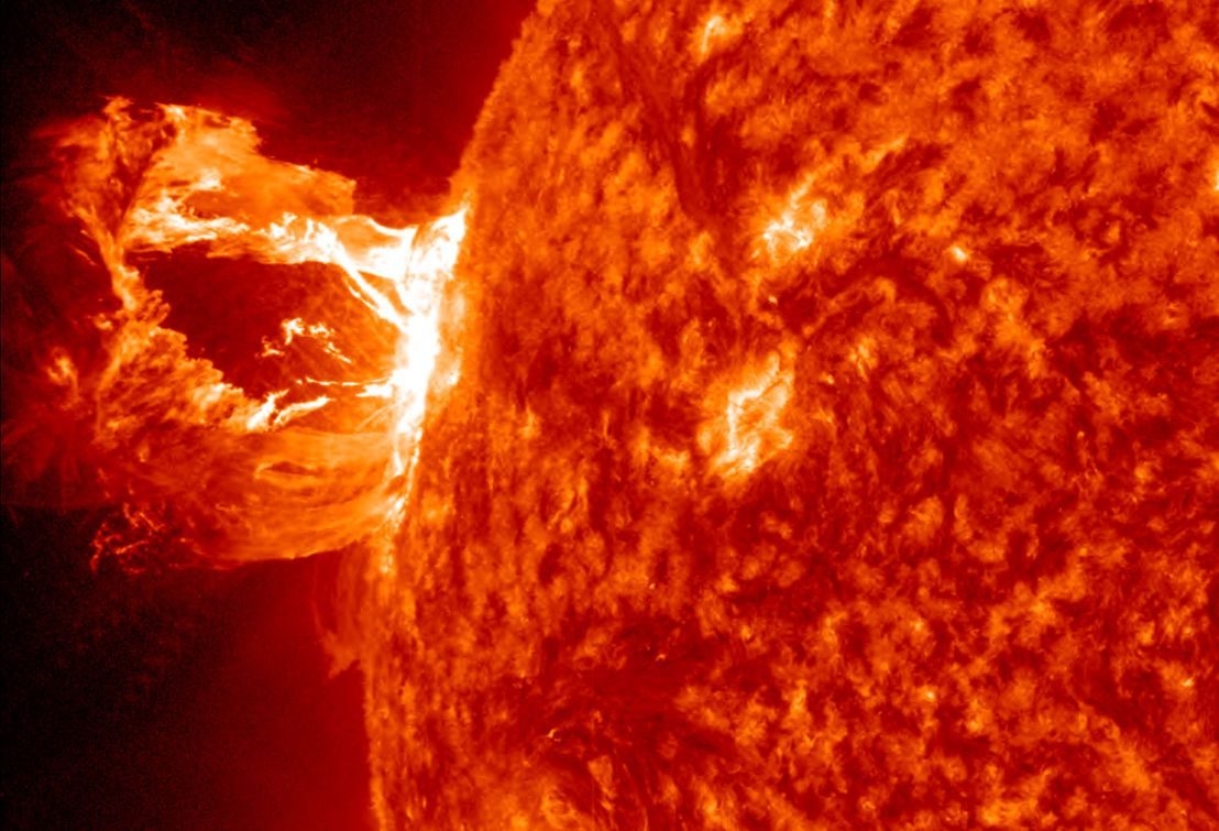 Solar Flares May Cause Signal Interference