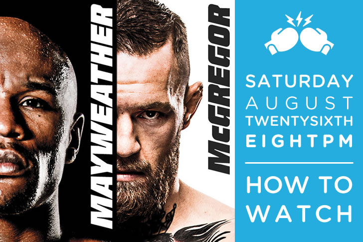 How to Watch Mayweather vs. McGregor on C Spire TV