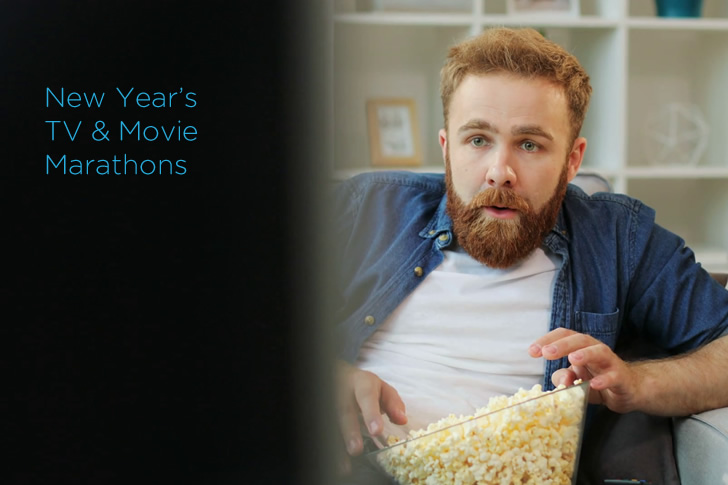 A Guide To New Year's TV & MovieMarathons