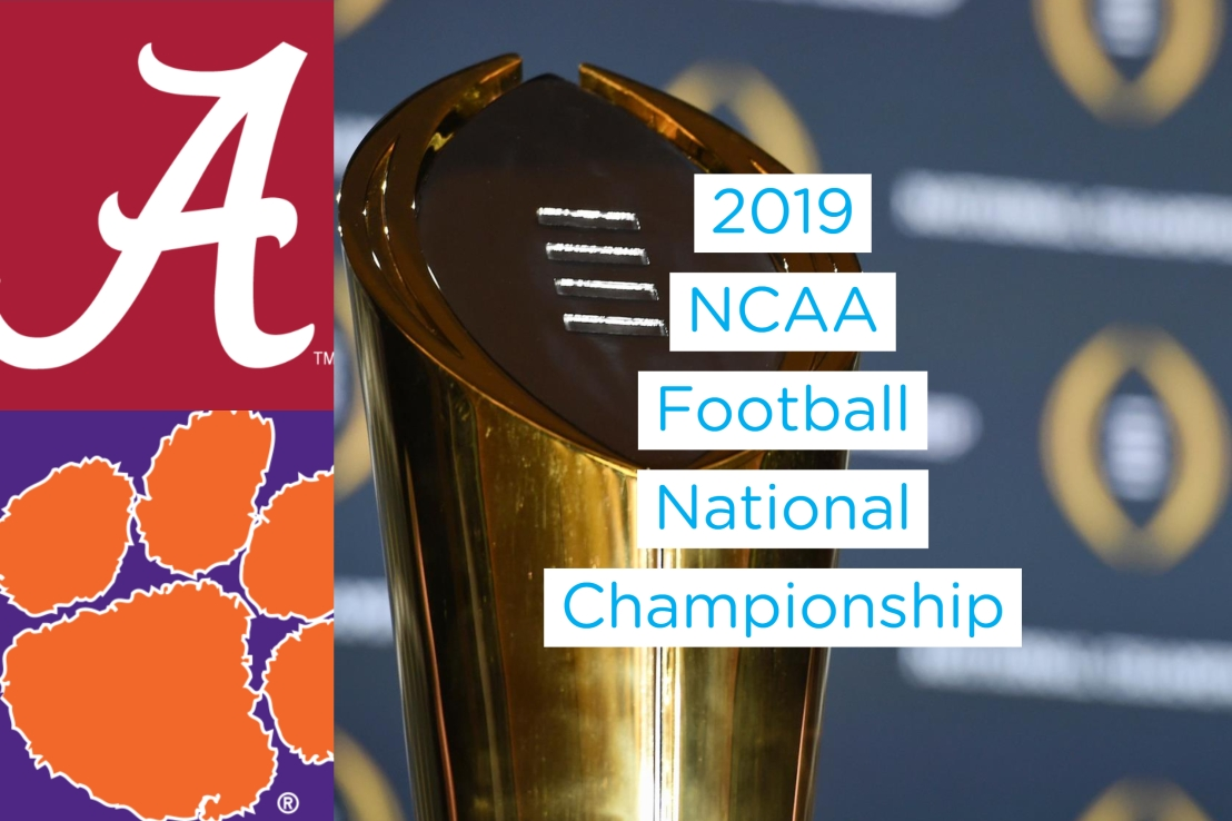 Alabama vs. Clemson National Championship Game Time & TV Info