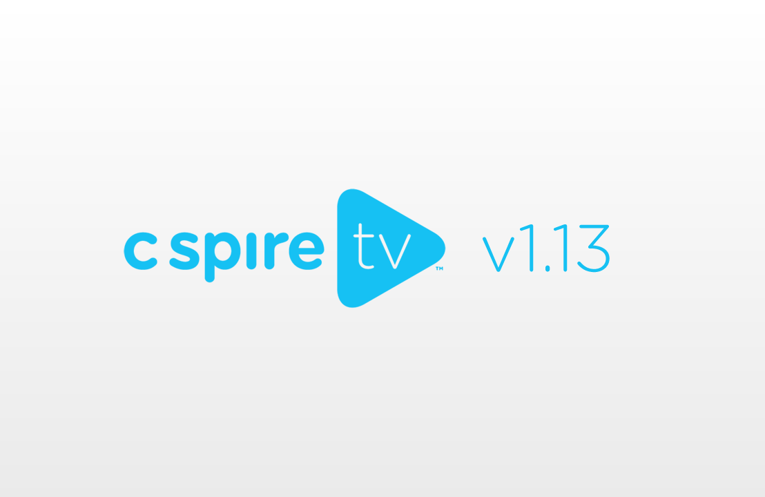 C Spire TV 1.13 Adds New Accessibility Features