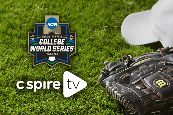 2019 NCAA Baseball College World Series on C Spire TV