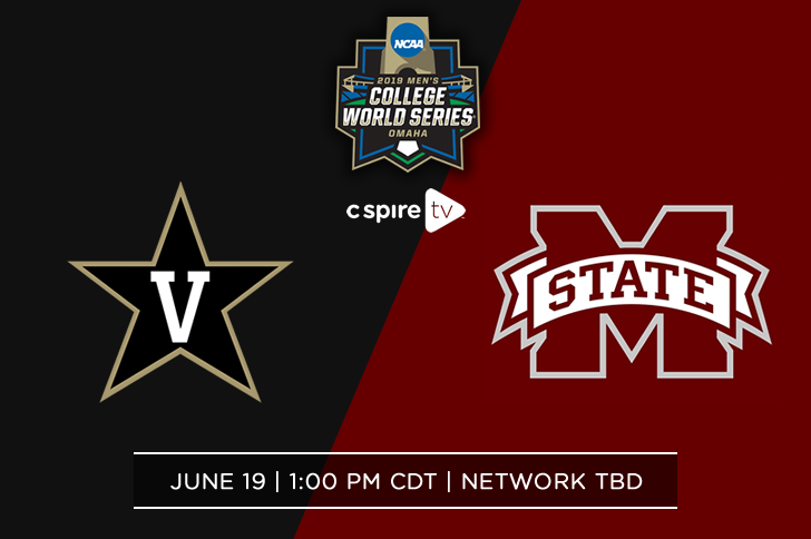 UPDATE – Mississippi State Bulldogs Face Vanderbilt Commodores on C Spire TV