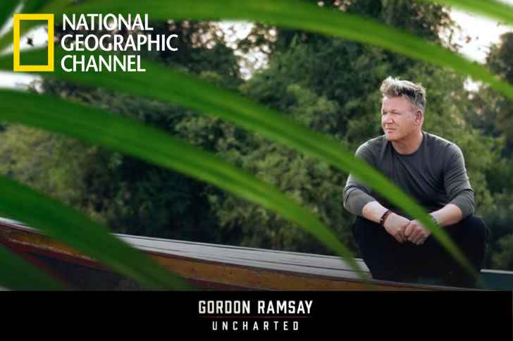 Tour The Globe With Gordon Ramsay's Uncharted Series